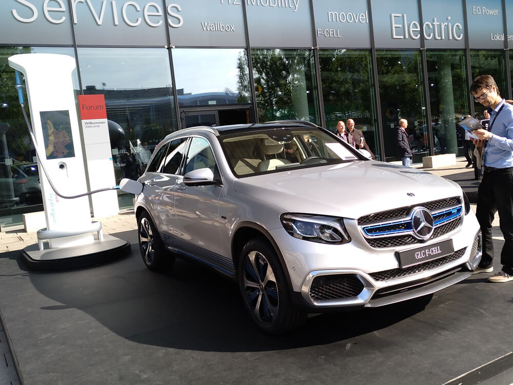 GLC F-Cell Plug-in-Hybrid